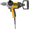FREE SHIPPING — DEWALT Heavy-Duty Spade Handle Corded Electric Drill — 1/2in. Chuck, 9.0 Amp, 550 RPM, Model# DW130V The price is $179.00.