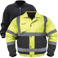Utility Pro Men's Class 3 High Visibility 3-in-1 Bomber Jacket with Teflon Fabric Protector — Lime/Black, 5XL, Model# UHV563 The price is $59.99.