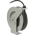 Roughneck Oil Hose Reel — 1/2in. x 50ft. Hose, 2000 PSI The price is $199.99.