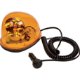 Ironton Rotating Halogen Beacon Light — Amber, Magnetic Mount The price is $24.99.
