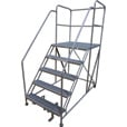 Cotterman Rolling Work Platform — 800-Lb. Capacity, 36in. x 36in. Work Platform, 5 Step, Model# D055005804 The price is $1,299.99.
