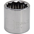 Klutch Socket — Metric, 17mm, 3/8in.-Drive, 12-Pt. The price is $2.69.