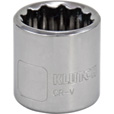 Klutch Socket — Metric, 18mm, 3/8in.-Drive, 12-Pt. The price is $2.69.