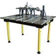 FREE SHIPPING — Strong Hand Tools BuildPro Modular Welding Table, Model# TMA54738 The price is $2,149.99.