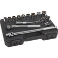 Klutch 18-Pc. 1/2in.-Drive SAE Socket Set The price is $39.99.