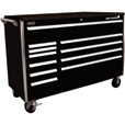 Homak Big Dawg 60in., 11-Drawer Tool Cabinet — Black, 60in.W x 24in.D x 44 1/2in.H, Model# BK04060123 The price is $3,349.99.