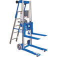 Genie® GL-8 Material Lift with Ladder — 400-Lb. Capacity, Up To 120.5in. Lift, Model# GL-8 W/LADDER The price is $1,999.99.
