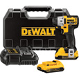 FREE SHIPPING — DEWALT 20V MAX XR Lithium-Ion Brushless Impact Driver — 20 Volt, 1/4in. Hex Drive, 3-Speed, Model# DCF895D2