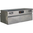 Northern Tool + Equipment Locking Wide-Style Chest Truck Tool Box — Diamond Plate Aluminum, 48in. The price is $349.99.