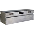 Northern Tool + Equipment Locking Wide-Style Chest Truck Tool Box — Diamond Plate Aluminum, 56in.
