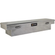 Northern Tool + Equipment Crossover Low Profile Truck Tool Box — Diamond Plate Aluminum, 71in. The price is $274.99.