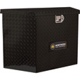 Northern Tool + Equipment Locking Trailer Tongue Gloss Black Tool Box — Tall Style, Aluminum, 34in. The price is $299.99.