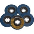 FREE SHIPPING — Klutch 4.5in. Flap Discs — 5-Pk., Type 29, 120 Grit The price is $12.99.
