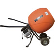 Kushlan Portable Electric Direct Drive Cement Mixer — 6 Cubic Ft. Drum, Model# KPRO600DD