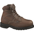 Wolverine Tremor DuraShock 6in. Steel Toe EH Work Boots — Brown, Size 7, Model# W04325 The price is $129.99.