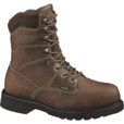 Wolverine Tremor DuraShock 8in. Steel Toe EH Work Boots — Brown, Size 12, Model# W04327 The price is $134.99.