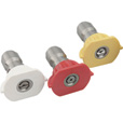 NorthStar Pressure Washer Quick Couple 3-Piece Spray Nozzle Set — 4.5 Size, Model# N100049P The price is $22.99.