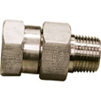 NorthStar Swivel Pressure Washer Coupler — 5000 PSI, 3/8in. Fitting, Stainless Steel, Model# ND10067P The price is $14.99.