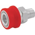 NorthStar Pressure Washer Insulated Quick-Connect Coupler — 1/4in. NPT-M, 5000 PSI, 12.0 GPM, Stainless Steel, Model# 2100386P The price is $11.99.