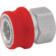 NorthStar Pressure Washer Insulated Quick-Connect Coupler — 3/8in. NPT-F, 5000 PSI, 12.0 GPM, Stainless Steel, Model# 2100387P The price is $12.99.