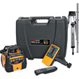 CST/Lasermark Self-Leveling Rotary Laser Level with Dual Manual Grade — Includes Tripod and Rod, Model# 57-LM800GRPKG