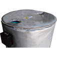 BriskHeat Insulated Drum Top Cover — Fits 55-Gallon Drum, Model# FGDC55 The price is $84.99.