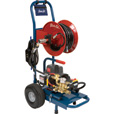 FREE SHIPPING — Electric Eel 100ft. Electric High Pressure Water Jetter, Model# EJ-1500D The price is $2,749.99.