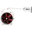 Vostermans Multifan 16in. Truck Dock Circulator Fan — With Mounting Arm and Stirrup, 1/4 HP, 3,294 CFM, Model# B4E4003TDF