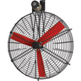 Vostermans Multifan 50in. High Volume Circulator Fan — 1 2/5 HP, 28,500 CFM, 240 Volt, Model# K4E1311M11100 The price is $949.99.