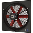 Multifan Panel Fan with Intake Guard — 20in. Dia., 5,200 CFM, 3-Phase Motor, Model# V4D50K-460V The price is $569.99.