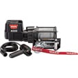 WARN 12 Volt DC Powered Electric Utility Winch — 4000-Lb. Capacity, Galvanized Steel Wire, Model# Warn 4000 DC The price is $299.99.