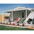 Arrow Attached Patio Cover/Carport — 10ft. x 10ft., Model# PC1010 The price is $699.99.