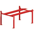 FREE SHIPPING — BendPak 4-Post Extra-Tall Car Lift — 9000-Lb. Capacity, Red, Model# HD-9XW The price is $3,140.00.