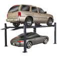 FREE SHIPPING — BendPak 4-Post Lift Wide/Standard Car Lift — 9000-LB. Capacity, Blue, Model# HD-9XL The price is $3,220.00.
