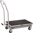 Roughneck Hydraulic Table Cart — 500-Lb. Capacity