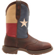 Durango Rebel Men's 11in. Texas Flag Work Boots — Dark Brown w/Texas Flag Graphic, Size 11 1/2, Model# DB4446 The price is $149.99.