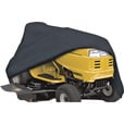 Classic Accessories RiderTech Tractor Cover — Black, 72in.L x 44in.W x 46in.H, Model# 52-035-010401-11 The price is $29.99.