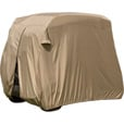 Classic Accessories Fairway Golf Cart Easy-On Cover — Fits Club Car Precedent, Yamaha Drive and EZ Go,  Model# 74442 The price is $49.99.