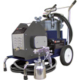 Campbell Hausfeld HVLP Mobile Cart System — 8 PSI, 0.08 GPM, Model# HV2105