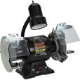 FREE SHIPPING — Ironton 6in. Bench Grinder with Lamp