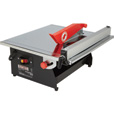 FREE SHIPPING — Ironton 7in. Wet Tile Saw The price is $79.99.