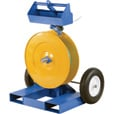 Vestil Strapping Cart with Fork Pockets — Model# STRAP-FP The price is $599.99.