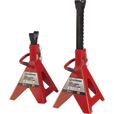 FREE SHIPPING — Strongway Double-Locking 6-Ton Jack Stands — Pair The price is $39.99.