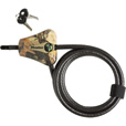 Master Lock Python Adjustable Locking Cable — 6ft.L, 5/16in. Dia., Model# 8418KADCAMO-TMB The price is $27.99.