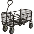 Strongway Steel Folding Utility Cart — 330-Lb. Capacity, 49in.L x 25 1/2in.W The price is $119.99.