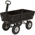 Strongway Steel Garden Wagon with Liner — 1,200-Lb. Capacity, 5 Cu. Ft., 44in.L x 24in.W The price is $169.99.