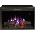Chimney Free SpectraFire Plus Electric Fireplace Insert — 4,600 BTU, 26in., Model# 26EF031GRP The price is $391.99.