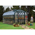 Rion Grand Gardener 2 Clear Greenhouse — 8ft.W x 16ft.L, Model# HG7216C The price is $3,199.99.
