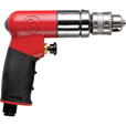 Chicago Pneumatic Reversible Air Drill — 1/4in. Chuck, Model# CP7300R The price is $159.99.