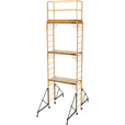 Metaltech Multipurpose 18ft. Maxi Square Triple Baker-Style Scaffold Tower Package — 733-Lb. Capacity, Model# I-T3CISC The price is $999.99.